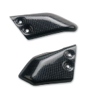 Carbonfiber rider footpeg guard Ducati Monster